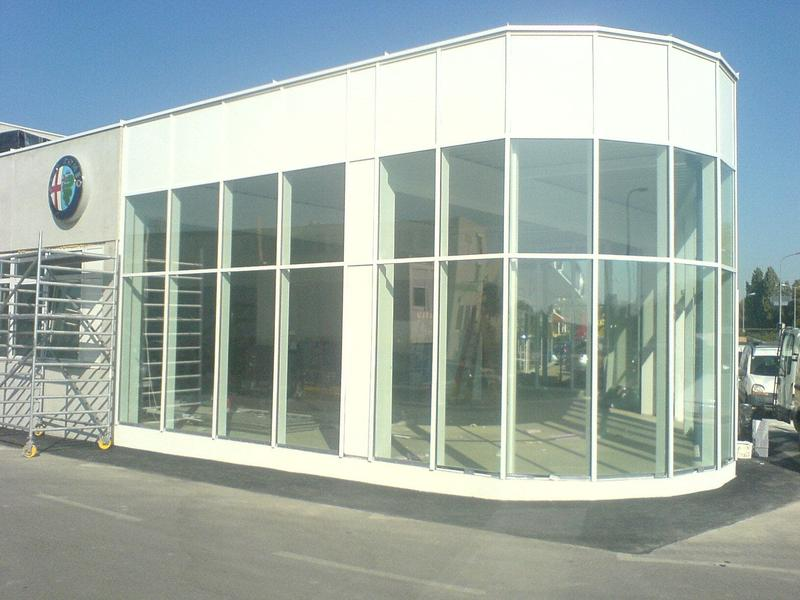 Alu-Glasfassaden